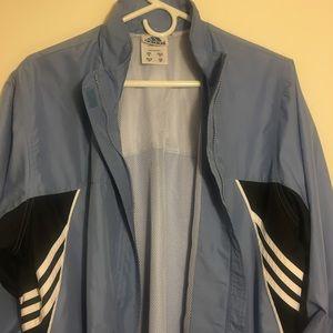 Light Blue Adidas Waterproof Jacket